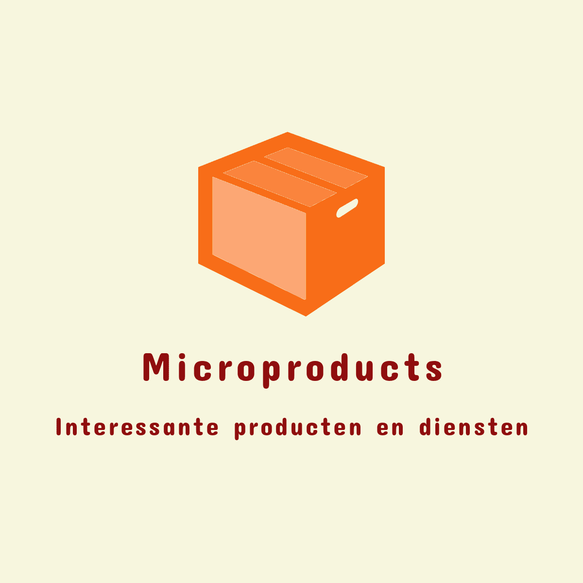 Microproducts